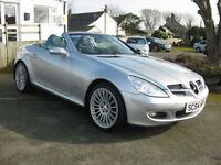 2004/54 Mercedes-Benz SLK 200K Automatic Convertible Low miles~Superb Condition.