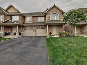 Immaculate Freehold End Unit Townhouse! Fully Fenced Backyard !