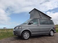 Vw campervan hire scotland self drive holiday NC500 ultimate Vw factory campervan