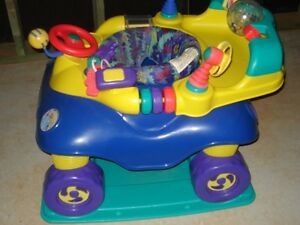 Safety First Car exersaucer. AVAILABLE