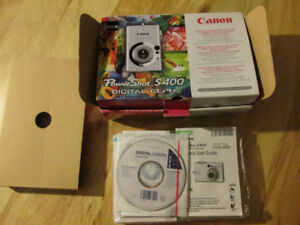 CANON Elph Digital Camera Power Shot S 400 4.0 Megapixel