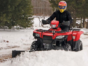 ATV/UTV SNOW PLOWS @ HFX MOTORSPORTS!