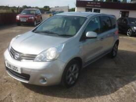 2011 NISSAN NOTE 1.6 N Tec 5dr Auto