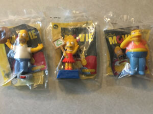"THE SIMPSONS MOVIE ""Set of 16 Talking Toys"" (Burger King)(2007)"
