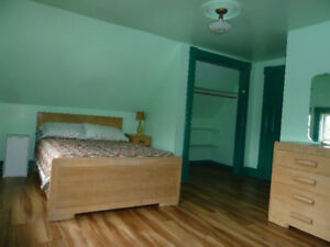 STUDENT HOUSING  Furnished bedroom with private bath