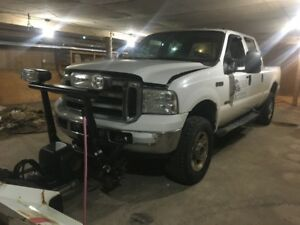 2006 Ford F350 4x4 Diesel Will Blizzard 8/10 Plow