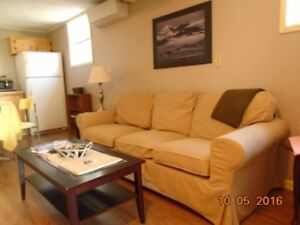 Bright clean cozy comfortable one bedroom apartment