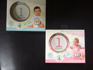 Baby monthly belly stickers