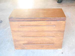 Low Rise 3 Drawer Bureau