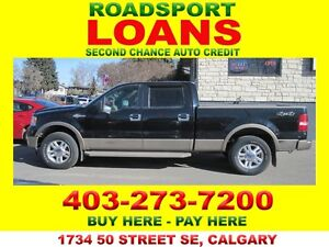 2006 FORD F150 KING RANCH $500 DN APPROVED SUB CONTRACTOR OK