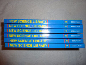 New Science Library Set - 6 Volumes - Like New