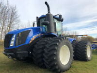 New Holland T9.600HD 4WD Tractor with PTO, Twin Pump