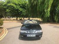 2000/W Reg Saab 9-3 2.0 Turbo SE 2 Door Convertible Black (79,000 Miles)