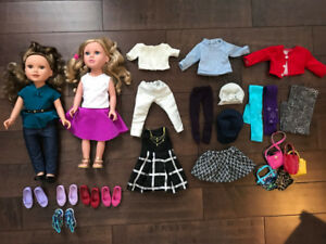 Journey Girl Dolls with Clothes and Accessories