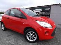 2013 63 FORD KA 1.2 STUDIO PLUS 3D 69 BHP RED PETROL