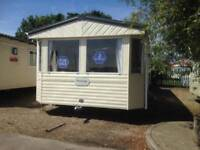 Rarely Available ABI Prestige 2 bed W/Chair friendly Caravan at Berwick Holiday Park Northumberland