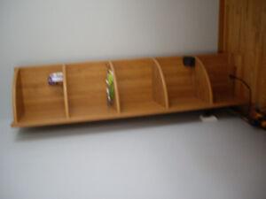 Multiple excellent condition hanging, CORNER shelves for sale