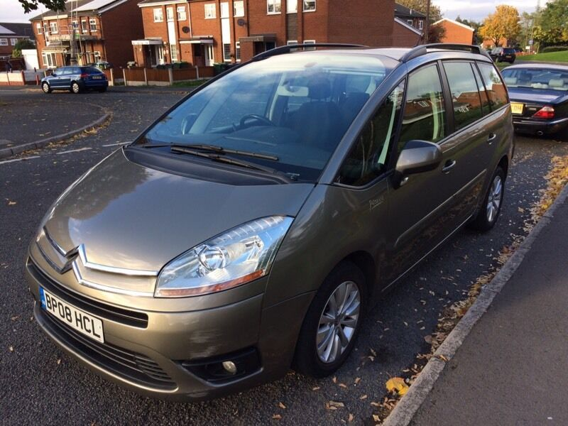 2008 Citroen c4 grand Picasso 1.6hdi vtr+ 7seater #may px or swap#