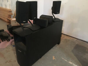 Bose Acoustimass 15 Home Theater Speaker System $1,350.00!