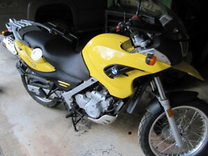 2005 BMW F 650 GS on/off road motorbike for sale.