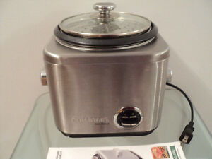 CUISINART RICE COOKER WITH INSTRUCTION & RECIPE BOOKLET-LIKE NEW Cornwall Ontario image 7