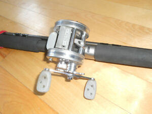 Canne moulinet a Musky, Abu Garcia/Shimano, Fishing rod and reel