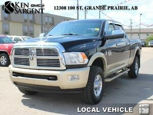 2012 Ram 3500 Laramie Longhorn  - DVD/Heated  Cooled Seats/Nav