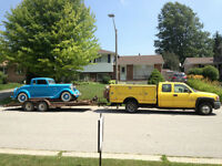 Tow and Hauling  delivery  service .