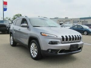 2016 Jeep Cherokee Limited  4X4w/Safety Group,Tech,Parallel Park