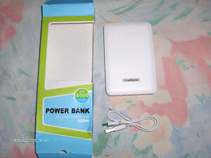 Cell phone and tablet backup charger