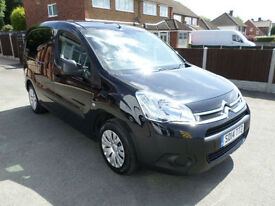 2014 Citroen Berlingo 1.6HDi Enterprise Special Edition, Dog Van, Pet van, BLACK