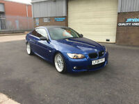 2008 BMW 325 3.0 i M- SPORT COUPE.141000 MILES WITH FULL SERVICE HISTORY.