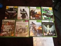 Xbox 360, 300GB with 35 games including FIFA 17.