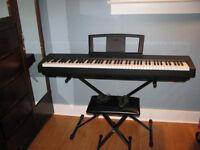 YAMAHA P-35 DIGITAL PIANO, AS NEW!