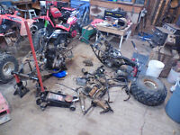 250 big red and fourtrax parts