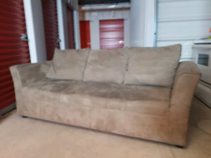 Beige Couch Excellent Shape **Delivery Included