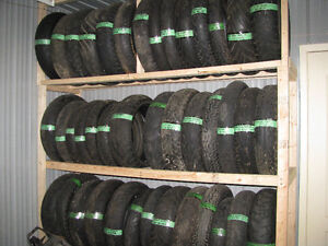 Pneus de moto usagés / Used motorcycle tires