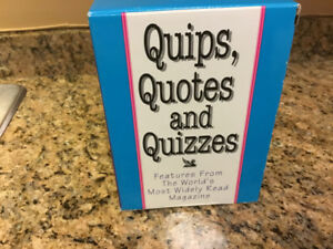 Quips, Quotes and Quizzes Books