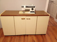 SEW & STOW SEWING TABLE (MACHINE NOT INCLUDED)