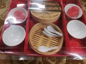 Oriental dining set