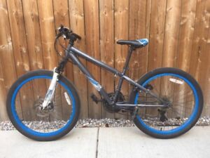Youth mountain bike 24 inch tires