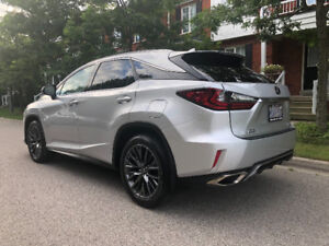 Lease Take Over Silver 2016 Lexus RX350 F Sport3