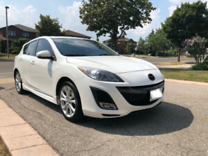 2010 MAZDA 3 GT WELL MAINTAINED