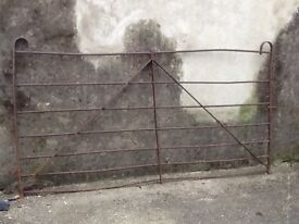 Reclaimed Iron Bar Farm Gate