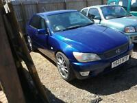 2001 NICE CONDITION FOR YEAR Lexus IS 200 2.0 S