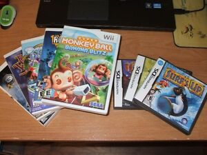 Various Wii games