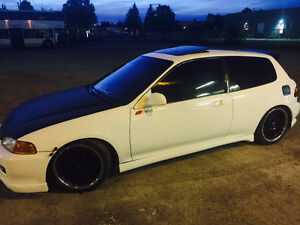 Honda Civic Hatchback Si