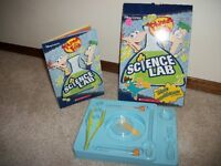 Phineas and Ferb's Sience Lab from Scholastic Books