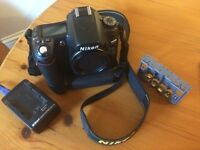 Nikon D80 DSLR Digital Camera Body with power winder - not canon