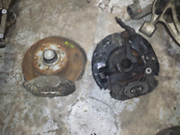 Jdm Mazda RX7 RX-7 FC3S Oem Front Spindles Calipers Hubs Bearing